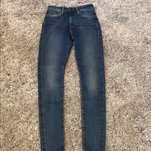 Levi's Made And Crafted 721 High Rise Jeans